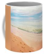 Tangalooma Island Beach In Moreton Bay.  Coffee Mug