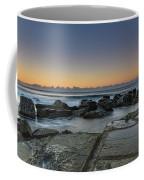 Tessellated Rock Platform And Seascape Coffee Mug