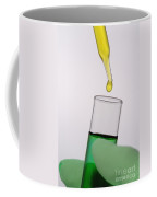 Test Tube In Science Research Lab Coffee Mug