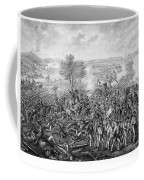The Battle Of Gettysburg Coffee Mug