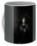 The Gas Mask Man Coffee Mug