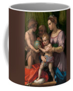 The Holy Family With The Young Saint John The Baptist Coffee Mug