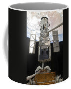 The Hubble Space Telescope Is Released Coffee Mug by Stocktrek Images