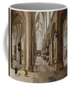 The Interior Of The Onze Lieve Vrouwekerk In Antwerp Coffee Mug