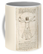 The Proportions Of The Human Figure Coffee Mug