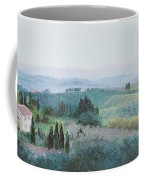 The Rolling Hills Of Tuscany Coffee Mug