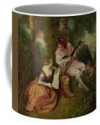 The Scale Of Love Coffee Mug