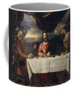 The Supper At Emmaus Coffee Mug