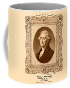 Thomas Jefferson Coffee Mug by War Is Hell Store