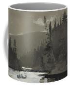 Three Men In A Canoe Coffee Mug