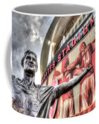 Tony Adams Statue Emirates Stadium Coffee Mug