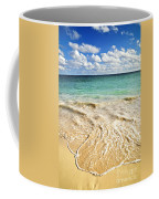 Tropical Beach  Coffee Mug by Elena Elisseeva
