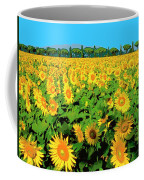 Tuscany Sunflowers Coffee Mug