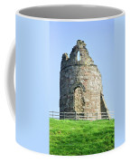 Tutbury Castle Ruins Coffee Mug
