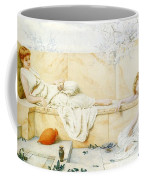 Two Classical Figures Reclining Henry Ryland Coffee Mug