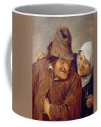 Two Peasants With A Glass Of Wine Coffee Mug