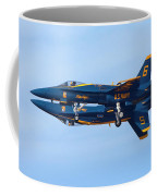 U S Navy Blue Angeles, Formation Flying Coffee Mug