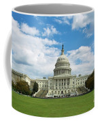 Us Capitol Washington Dc Negative Coffee Mug