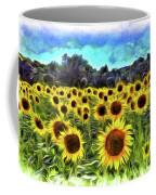 Van Gogh Sunflowers Coffee Mug
