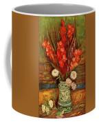 Vase With Red Gladioli  Coffee Mug