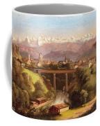 views of Bern and the Bernese Oberland Coffee Mug