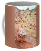Wash 3 Color In Valley Of Fire Coffee Mug