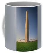 Washington Dc Memorial Tower Monument At Sunset  Coffee Mug