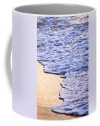 Waves Breaking On Tropical Shore Coffee Mug