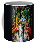 Wedding Under The Rain Coffee Mug