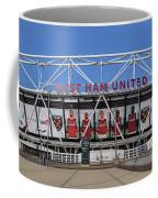 West Ham Fc Stadium London Coffee Mug