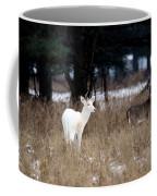 White Buck Brown Doe Coffee Mug