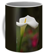 White Calla Coffee Mug