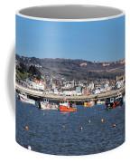 Winter Harbour - Lyme Regis Coffee Mug