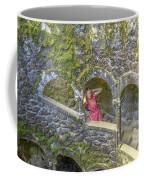 Woman Tourist In Sintra Coffee Mug