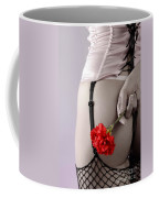 Woman With A Carnation Coffee Mug