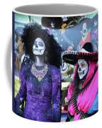 2 Women Day Of The Dead  Coffee Mug