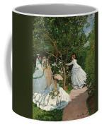 Women In The Garden Coffee Mug
