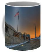 World War II Memorial Sunrise Coffee Mug
