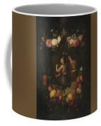 Wreath With Value And Abundance Coffee Mug