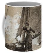 Yachting Girl Coffee Mug
