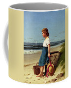 Young Girl At The Seashore Coffee Mug