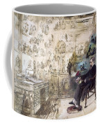 Charles Dickens 1812-1870.  To License For Professional Use Visit Granger.com Coffee Mug