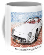 2003 Corvette Prototype Coffee Mug