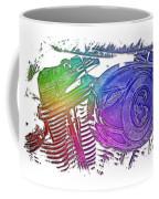 2007 Harley C 01 Cool Rainbow 3 Dimensional Coffee Mug