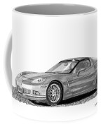 Corvette Roadster, Silver Ghost Coffee Mug