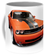 2008 Dodge Challenger Srt Muscle Car Coffee Mug