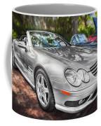 2008 Mercedes Benz Sl500 V8 Coupe Painted   Coffee Mug