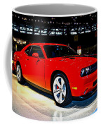 2009 Dodge Challenger Number 2 Coffee Mug