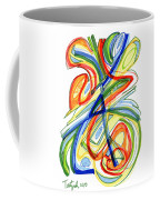 2010 Abstract Drawing Eight Coffee Mug
