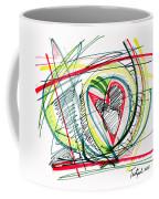 2010 Abstract Drawing Eighteen Coffee Mug